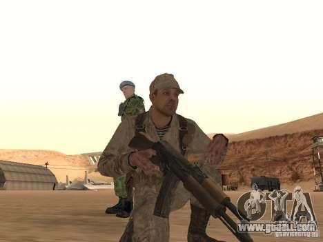 A Soviet Soldier Skin for GTA San Andreas third screenshot