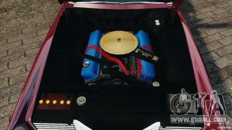 Cadillac Eldorado 1968 for GTA 4 upper view