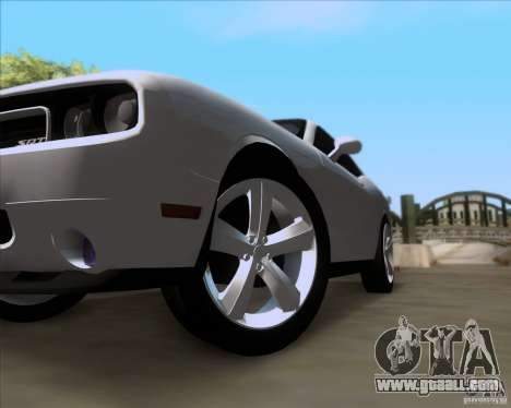 Dodge Challenger SRT8 2009 for GTA San Andreas side view