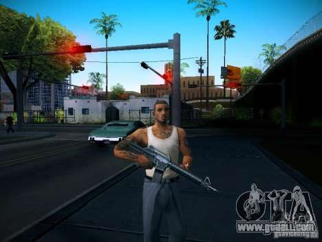 Change characters for GTA San Andreas
