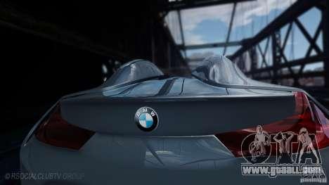 BMW Vision ConnectedDrive Concept 2011 for GTA 4 back left view