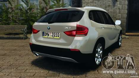 BMW X1 for GTA 4 back left view