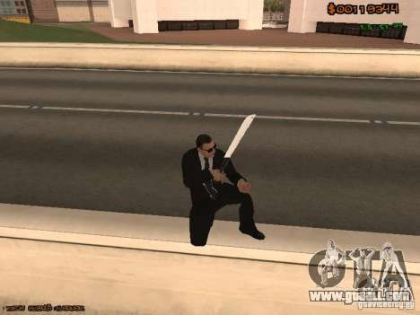 Gray weapons pack for GTA San Andreas
