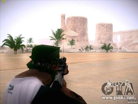 M4 Close Quarters Combat for GTA San Andreas third screenshot