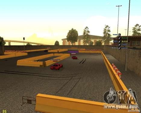 Drift Circuit for GTA San Andreas third screenshot