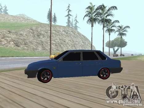 VAZ 21099 v2 for GTA San Andreas back view