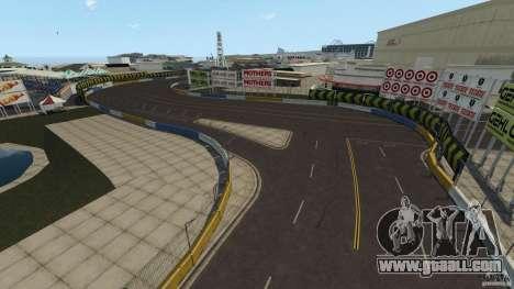 Long Beach Circuit [Beta] for GTA 4 forth screenshot