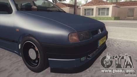 Seat Ibiza GLXI 1.4 1994 for GTA San Andreas back left view