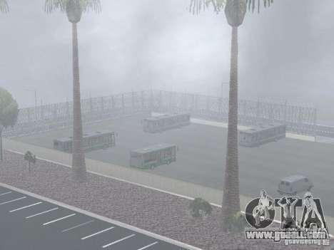 4-th bus v1.0 for GTA San Andreas seventh screenshot