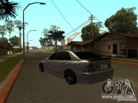 Lexus IS300 JDM for GTA San Andreas left view