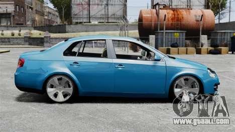 Volkswagen Jetta 2010 for GTA 4 left view