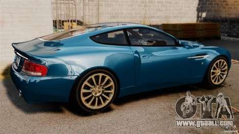 Aston Martin Vanquish 2001 for GTA 4 left view