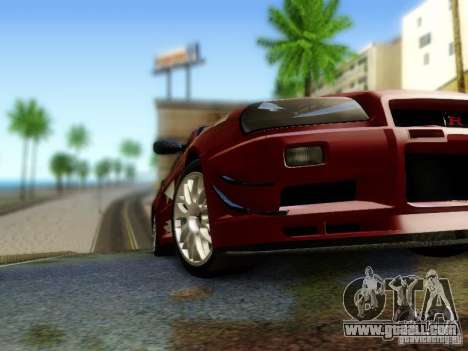 Nissan R34 Skyline GT-R for GTA San Andreas right view