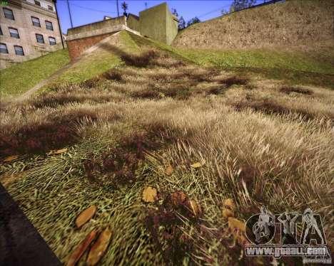 New grass for GTA San Andreas forth screenshot