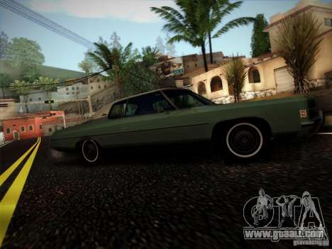 Chevrolet Impala 1972 for GTA San Andreas back left view