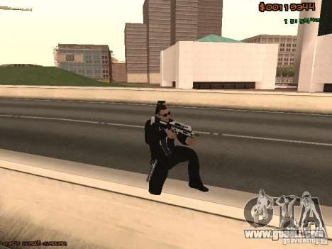 Gray weapons pack for GTA San Andreas forth screenshot