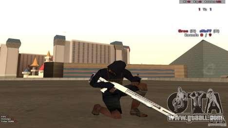 New Chrome Guns v1.0 for GTA San Andreas second screenshot