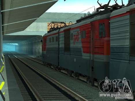 Vl10-1628 RZD for GTA San Andreas right view