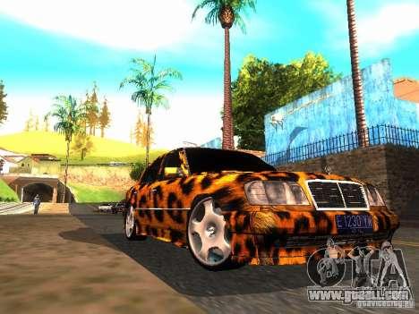Mercedes-Benz E500 Leopard for GTA San Andreas