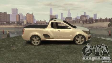 Chevrolet Montana Sport 2011 for GTA 4 left view