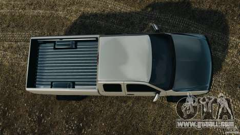 Chevrolet Silverado 2500 Lifted Edition 2000 for GTA 4 right view