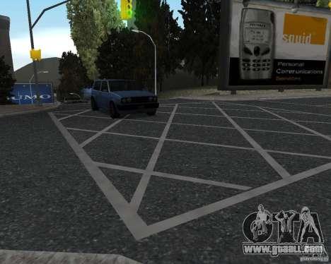 New road textures for GTA UNITED for GTA San Andreas third screenshot