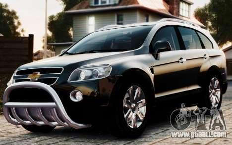 Chevrolet Captiva 2010 for GTA 4