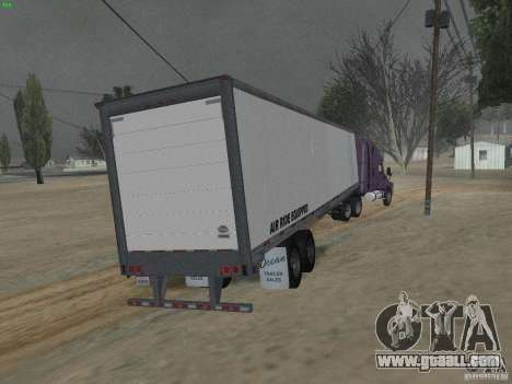 The semitrailer to the Freightliner Cascadia for GTA San Andreas