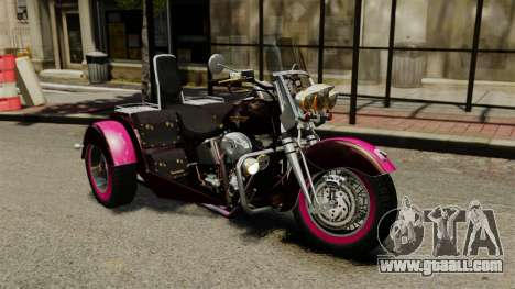 Harley-Davidson Trike for GTA 4