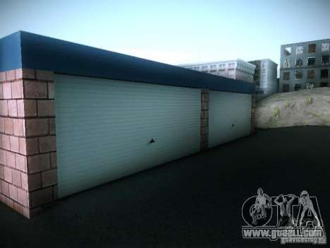 New garage in San Fierro for GTA San Andreas fifth screenshot