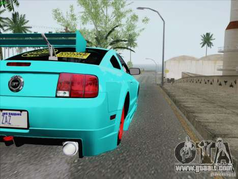 Ford Mustang GT Lowlife for GTA San Andreas side view