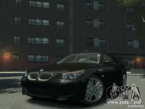 BMW M5 E60 for GTA 4