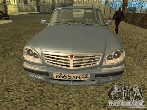 GAZ Volga 31105 restyling for GTA San Andreas
