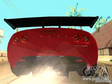 Lotus Exige 240R for GTA San Andreas side view