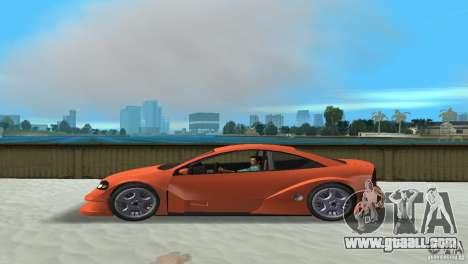 Opel Astra DTM for GTA Vice City left view