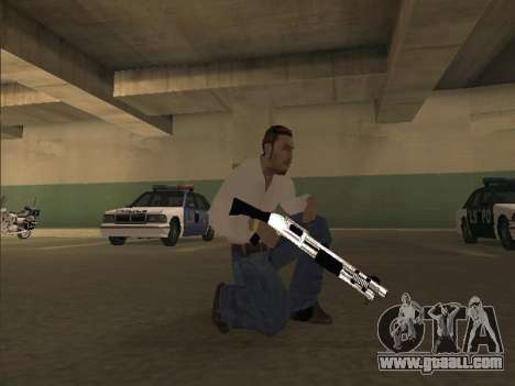 Chrome Weapons Pack for GTA San Andreas second screenshot