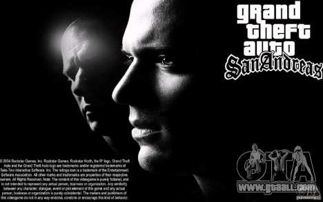 Boot screen Escape for GTA San Andreas