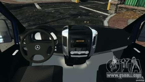 Mercedes-Benz Sprinter G4S ES Cash Transporter for GTA 4 back view