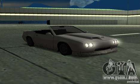 Buffalo Cabrio for GTA San Andreas right view