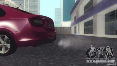 Skoda Rapid 1.6 C.R TDi 2013 V1 for GTA San Andreas right view
