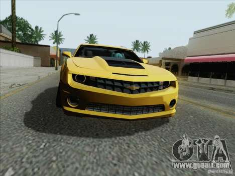 Chevrolet Camaro SS 2012 for GTA San Andreas