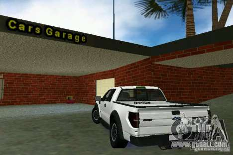 Ford F-150 SVT Raptor for GTA Vice City right view