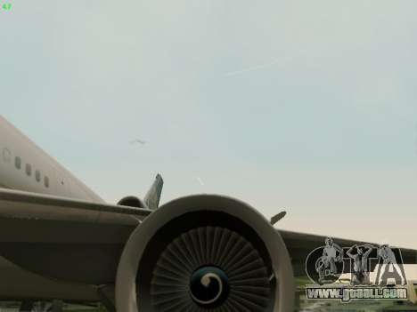 McDonell Douglas DC-10-30 Continental for GTA San Andreas side view