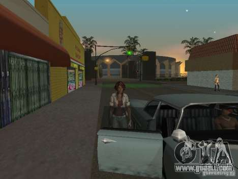 Remember Me Nilin for GTA San Andreas forth screenshot