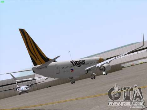 Boeing 737-800 Tiger Airways for GTA San Andreas right view