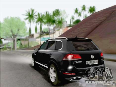 Volkswagen Touareg 2012 for GTA San Andreas right view