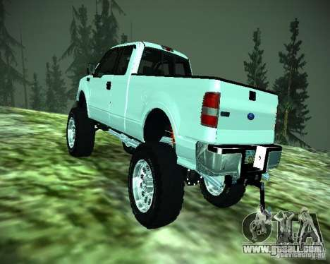 Ford F-150 EXT for GTA San Andreas back view