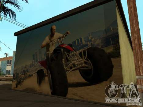 Poster of GTA 5 for GTA San Andreas forth screenshot