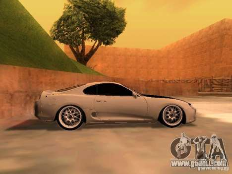 Toyota Supra GTS for GTA San Andreas left view