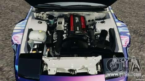 Nissan 240SX Kawabata Drift for GTA 4 side view